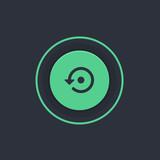 Modern Circle App Button - 176799109