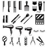 Fototapety Set of beauty salon tools. Vector illustrations.