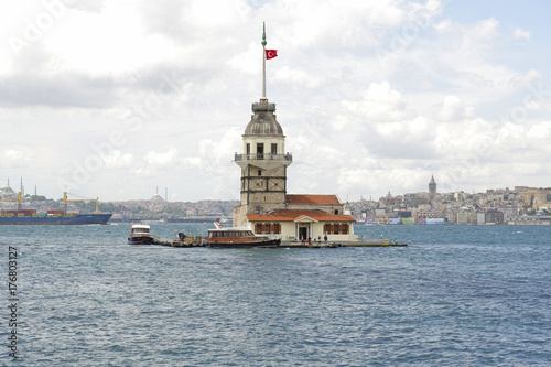 Maiden's Tower in İstanbul Poster