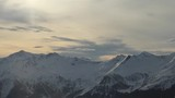 Bergpanorama im Abendlicht - 176810151
