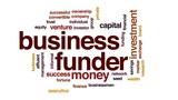 Business funder animated word cloud, text design animation. - 176810999