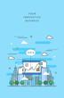 Business line illustration - 176812992