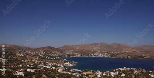 Papiers peints Cappuccino Panorama paysage méditerranéen