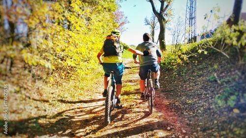 Zdjęcia na płótnie, fototapety, obrazy : mountainbiker i I