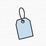 Vector of stationery doodle style - 176824951