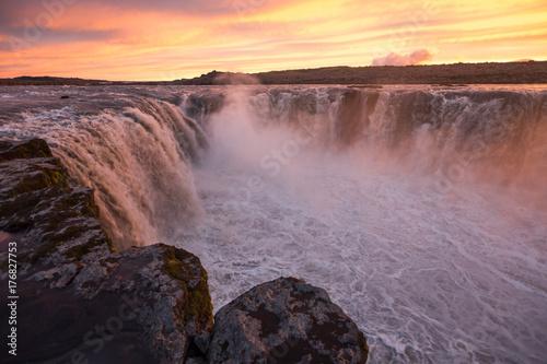 Selfoss waterfall - 176827753