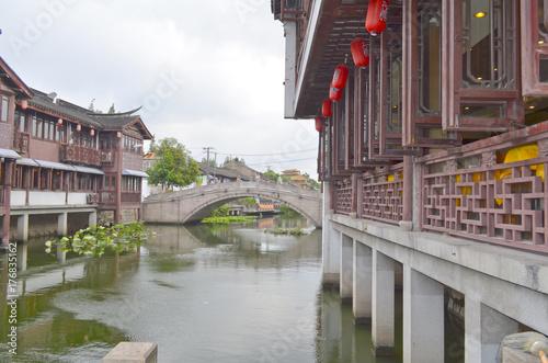 Qibao water village Poster