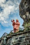 La statue Notre-Dame de France sur le rocher Corneille au Puy-en-Velay - 176835388