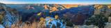 Panorama vom Grand Canyon Südseite im Winter