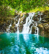 Cascade Vacoas waterfall. Mauritius. - 176845539