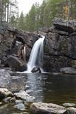 Waterfall, part of Mittåfallet