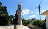 Toreta - the tower of love on island Silba Croatia. - 176849967
