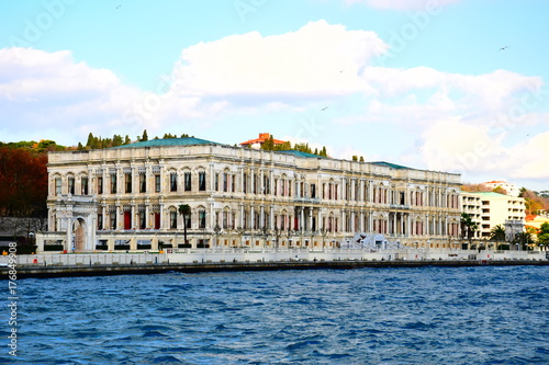 Ciragan Palace in Istanbul City, Turkey Poster