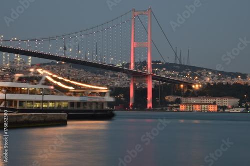 İstanbul Bosphorus Bridge Poster