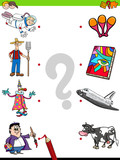 match people characters and objects game - 176853142