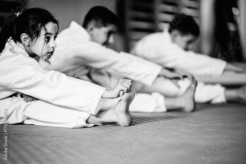 Martial Arts Training Class For Children