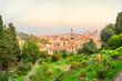 Quadro Garden VIew of Florence, Italy
