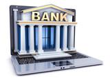 Build bank in laptop - 176860752