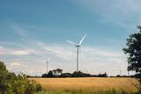 Wind Turbines, Wolfe Island, Ontario - 176864578