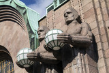 Art Deco Statues - Helsinki - Finland poster