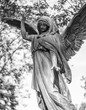 Angel Statue at cemetery Vienna, Austria