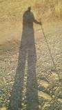 ombra di persona anziana - 176883543