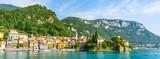 Panorama Varenna, Lake Como Italy - 176883771
