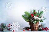Christmas and New year still life