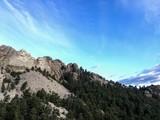 Mt Rushmore under Blue Skies