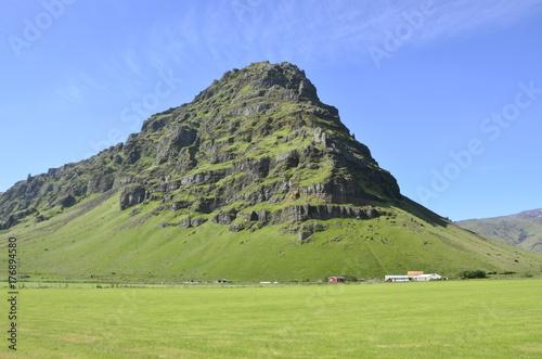 Fotobehang Pistache Icelandic dream