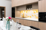 Dining table in contemporary kitchen - 176906726