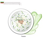 Tarator Cream Soup, A Traditional Bulgarian Dish - 176909384