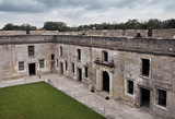 Castillo de San Marcos, the oldest fort in the continental United States, St. Augustine, Florida - 176910562