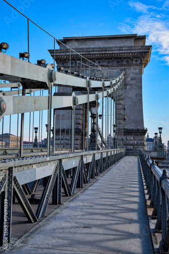 Wall mural Travel photography. Budapest - The Pearl of Danube.