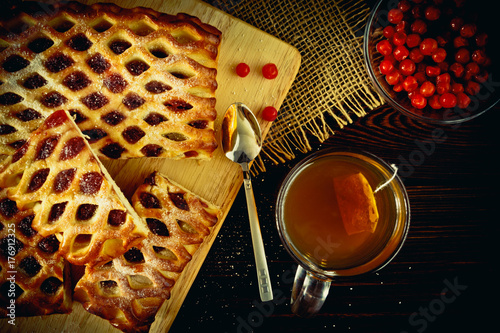 Wall mural Berry pie