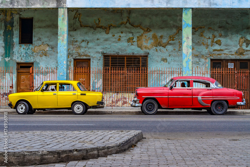 Foto op Canvas Havana Oldtimer