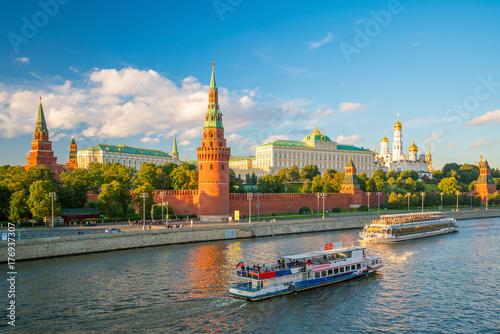 Staande foto Moskou The Moscow Kremlin