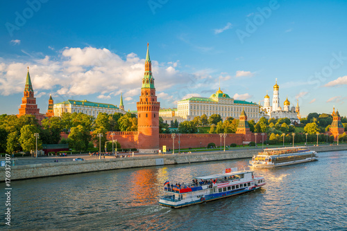 The Moscow Kremlin Poster