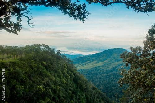 Fotobehang Pool Mountain in Thailand