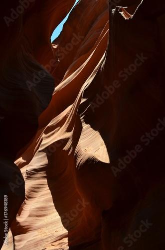Papiers peints Marron Antelope Canyon American Southwest. Arizona North America