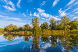 view to a beautiful lake - 176951914