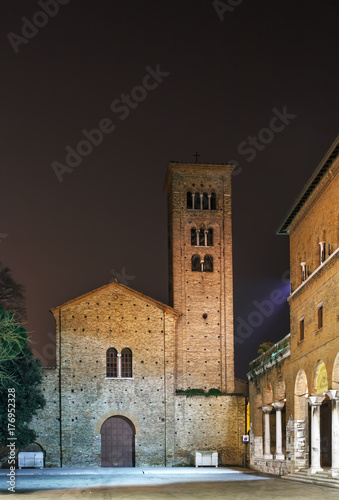 Sticker St. Francis basilica, Ravenna, Italy