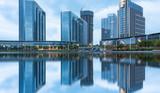 central business district of suzhou by jinji lake,jiangsu province,china. - 176954501