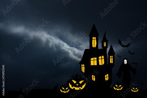 Halloween Hitergrund