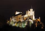 midnight view of Alcazar of Segovia - 176968786