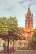 Quadro Saint-Sernin in Toulouse