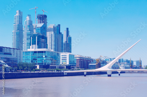 Aluminium Buenos Aires Business centers in riverfront area
