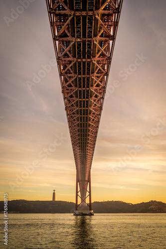 Atardecer en Lisboa, Puente 25 de Abril