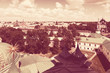Top view of old  Yaroslavl. Russia