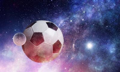 Soccer game concept © Sergey Nivens